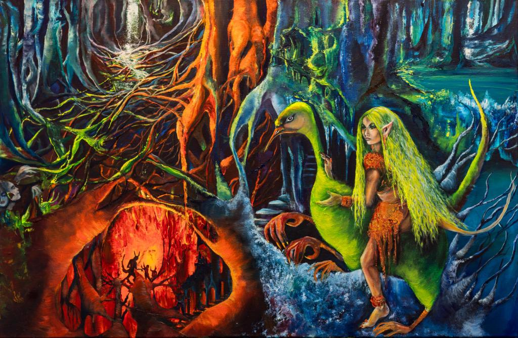Schilderijen van Sylvia Reijbroek