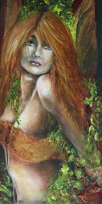 Schilderij door Sylvia Reijbroek