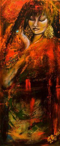 schilderij van Sylvia Reijbroek. Foto door Photodante