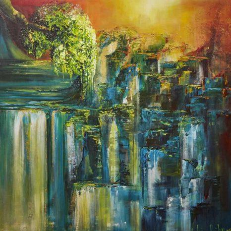 Waterval van Sylvia reijbroek